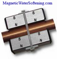 Magnetic water softener technology