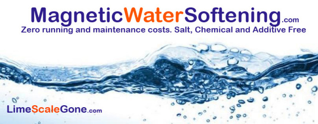 Kettle limescale showing proof that the magnetic limescale eliminator works